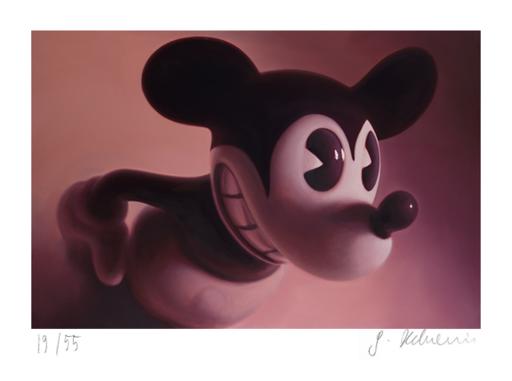 戈特弗里德·郝文 - 版画 - Red Mouse 6