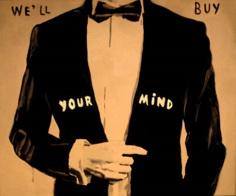Andreas LEIKAUF - Pittura - We'll buy your mind