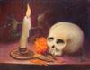 Jorge VASQUEZ QUIÑONES - Peinture - La Luz, La Vida y La Muerte