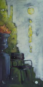 Anne Christine WELLENSTEIN - Peinture - Un moment au parc I
