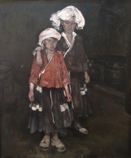 CHEN Hongqing - Peinture - les deux soeurs