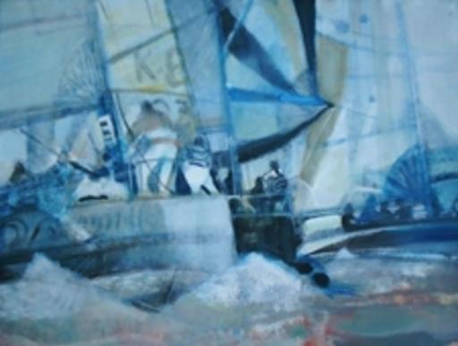 Paul AMBILLE - Pintura - Les régatiers