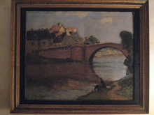 Fernand MAILLAUD - Painting - PONT PRES DE LIMOGES