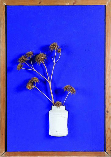 Angelos MAKRIDES - Pittura - Vase with flowers