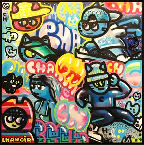 CHANOIR - Peinture - Chas Et Culture Urbaine
