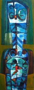 Raul ENMANUEL - Pintura - La Silueta III