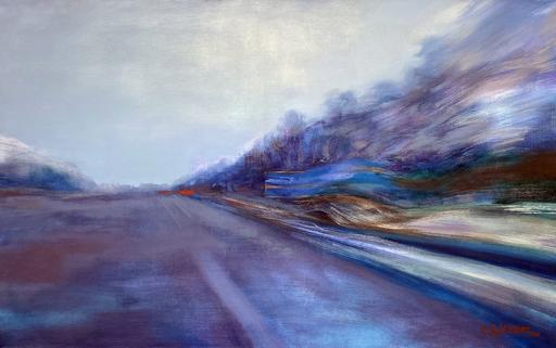 Ewa MAZUR-DEVAUX - Peinture - Autoroute 2