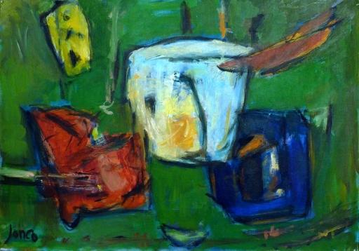 Marcel JANCO - Painting - Geometric Composition