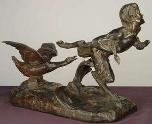 Victor Heinrich SEIFERT - Skulptur Volumen - Der Faun