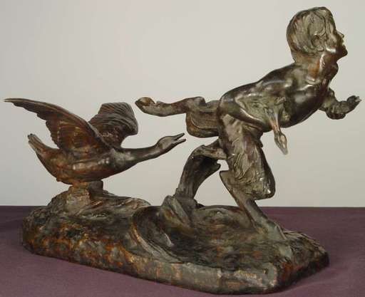 Victor Heinrich SEIFERT - Escultura - Der Faun