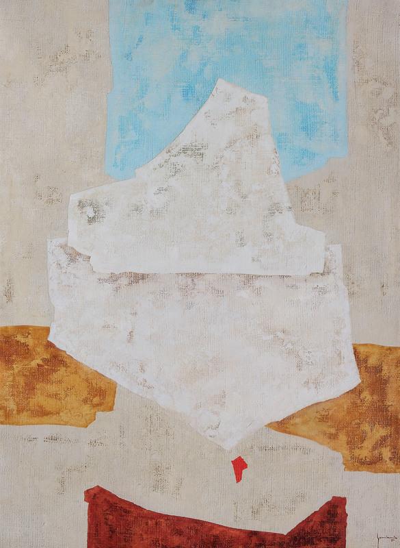Giovanni GORINI - Painting - APERTA SOLITUDINE