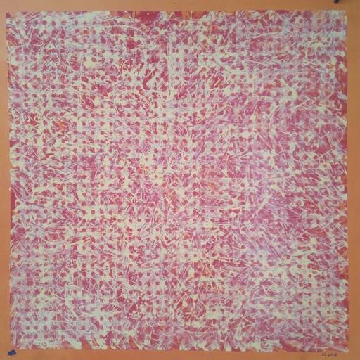 Harry BARTLETT FENNEY - Pittura - yellow with orange limit    (2018 )