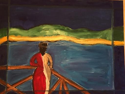 Christian DURIAUD - Pintura - La femme d'Emile Bernard