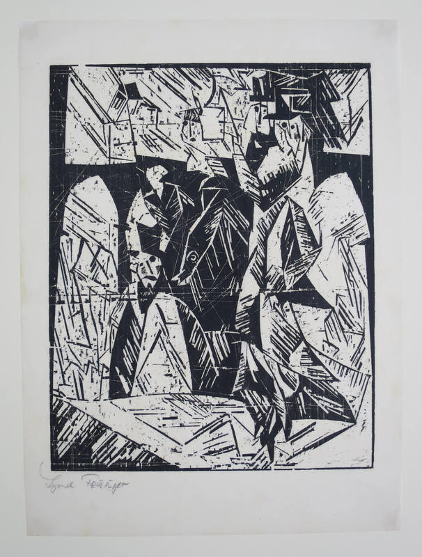 Lyonel FEININGER - Print-Multiple - Spaziergänger