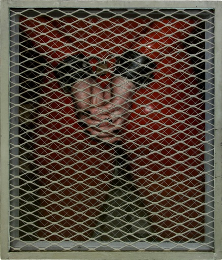 Dan WITZ - Estampe-Multiple - Red Rubber Suit With Handcuffs (WTF Series)