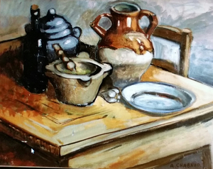 Auguste chabaud auguste chabaud nature morte oeuvres de for Auguste chabaud cote