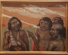 Daniel SABATER Y SALABERT - Painting - Ha sido tu mujer ... ?