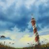 Carlo Alberto RASTELLI - Painting - Summer on a solitary beach #5