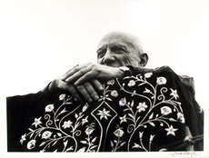 Lucien CLERGUE - Photography - Picasso in Frejus