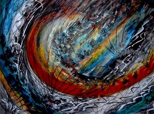 """Didier ANGELS - Peinture - """"Adieu l'Ami"""""""