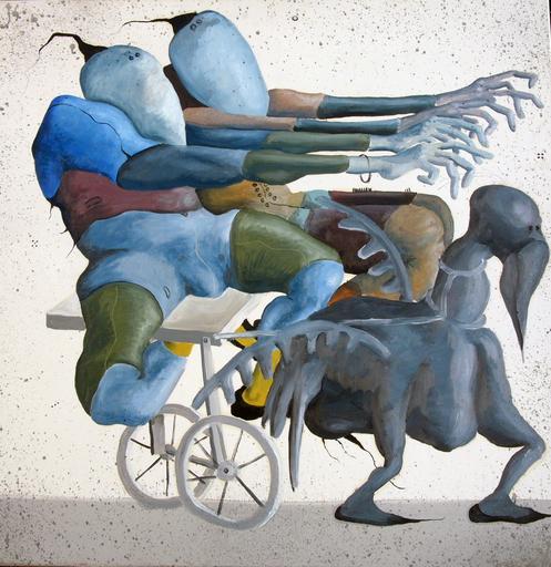 Oleg KUVAEV - Pintura - Wagenrennen