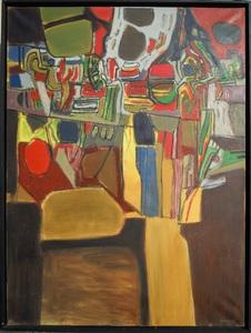 "CORNEILLE (1922-2010) - ""Le Jardin III"""