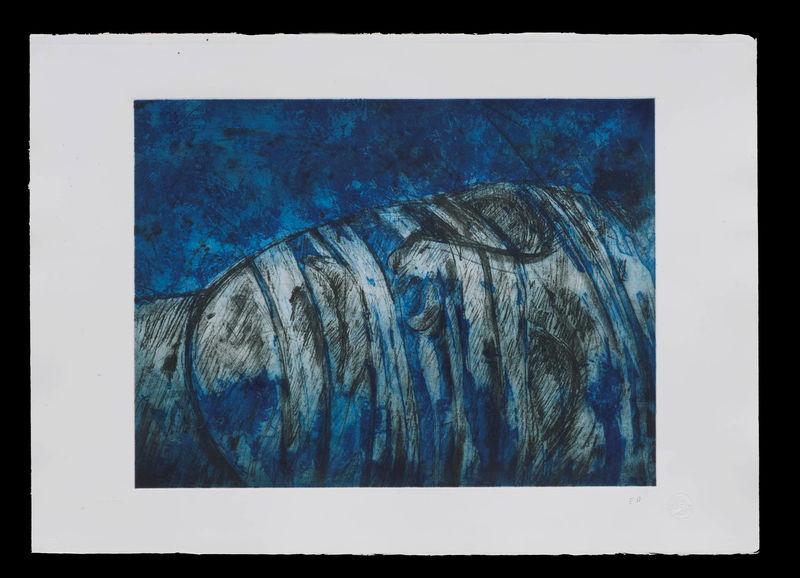 Igor MITORAJ - Stampa Multiplo - La notte blu