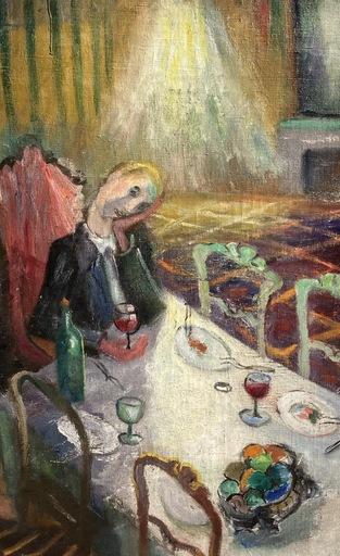 YANKA - Painting - Le repas