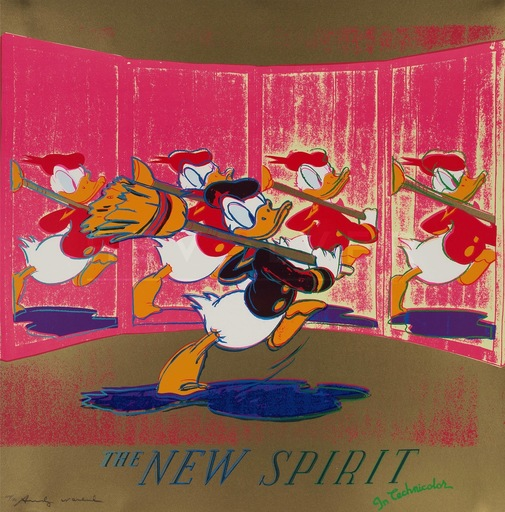 Andy WARHOL - Print-Multiple - New spirit