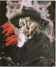 Bernard DAMIANO - Pintura - Autoritratto (omaggio a Rembrandt)