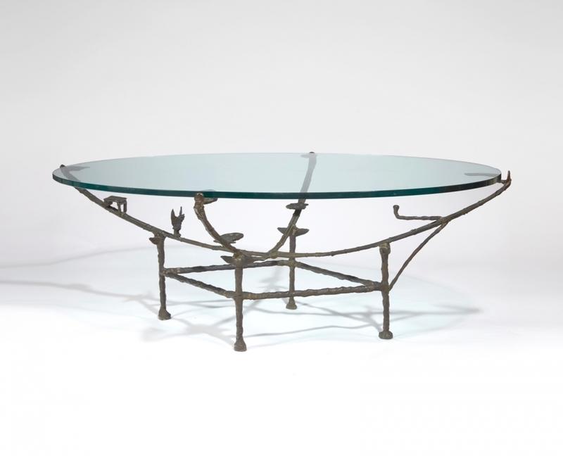 Diego GIACOMETTI - Escultura - Table Carcasse, modèle à la chauve-souris