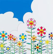 Takashi MURAKAMI (1962) - Flower No.2
