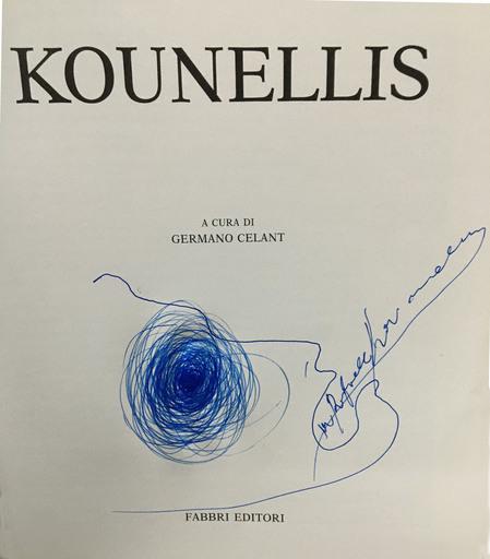 Jannis KOUNELLIS - Dessin-Aquarelle