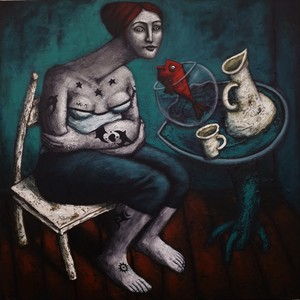 Nicolas MONJO - Painting - Insomnie