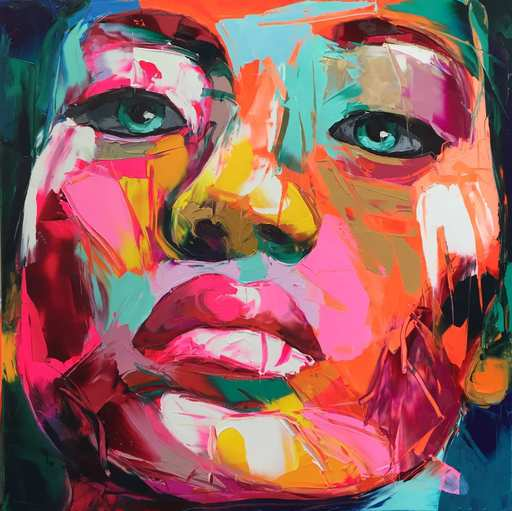Françoise NIELLY - Painting - Untitled 892
