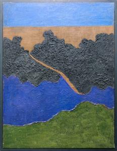 Carlo MATTIOLI - Gemälde - Campo di lavanda