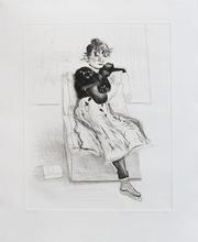 David HOCKNEY - Print-Multiple - Celia Observing