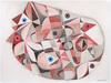 Jérémie IORDANOFF - Gemälde - Chambre (Abstract work on paper)