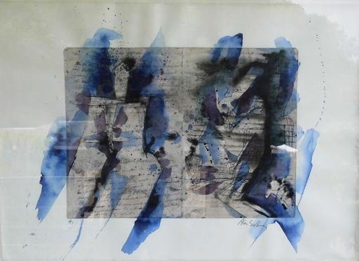 Alan SUNDBERG - Zeichnung Aquarell - ohne Titel