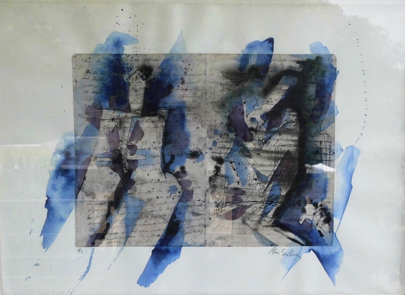 Alan SUNDBERG - Dessin-Aquarelle - ohne Titel