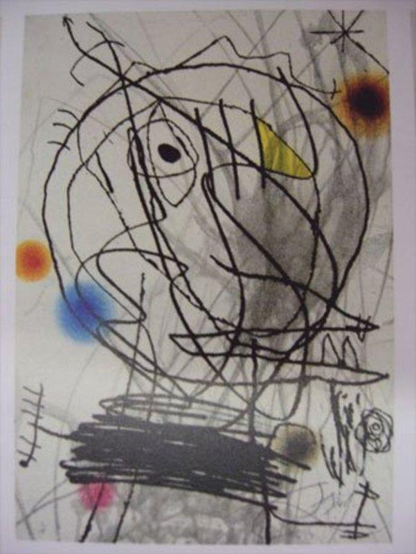 Joan MIRO - Print-Multiple - Passage de L'Egyptienne
