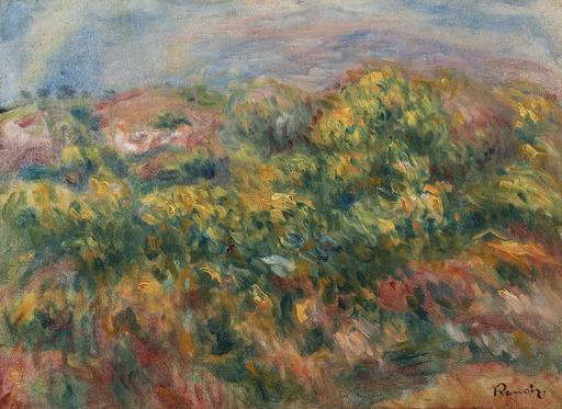 Pierre-Auguste RENOIR - Peinture - Paysage