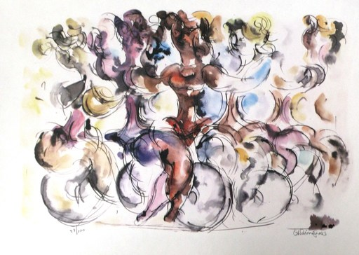 Chaim GROSS - Print-Multiple - The Dance