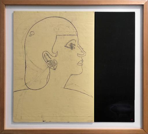 Eduardo ARROYO - Dibujo Acuarela - Money