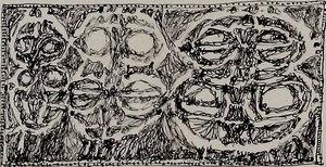 Romano NOTARI - Zeichnung Aquarell -  Senza titolo