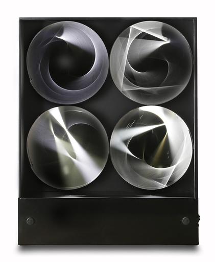Julio LE PARC - Escultura - Continuel lumière à cylindres