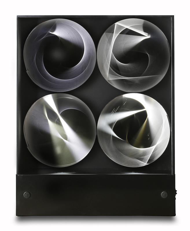 Julio LE PARC - Scultura Volume - Continuel lumière à cylindres