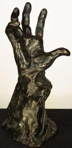 Malvina Cornell HOFFMAN - Escultura - La Main droite de Jean-Julien Lemordant
