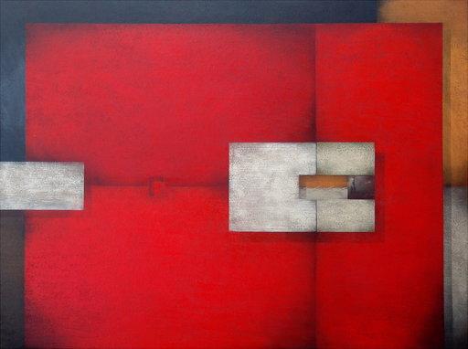 Frank JENSEN - Pintura - Manhattan Melacolic