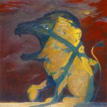 Alexander TOKAREV - Pintura - Summer Night, from Man-ZOO series